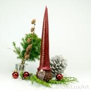Adventskalender Weihnachtskerze Zapfen 33cm