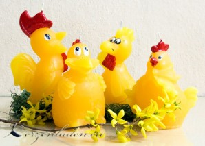 OsterkerzenTierfiguren verschiedene Sorten