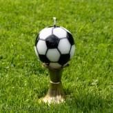 Fussball Kerze 7cm