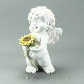 Engel Igor Sommer Sonnenblumestehend Blume unten 23cm