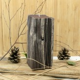 Kerzen Sandelholz Baumstumpf Braun 8,5x20cm