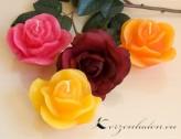 Rosenkerzen Rosenblüten - verschiedene Farben