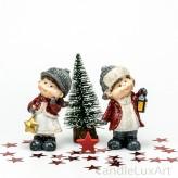 Weihnachtskinder Laterne Stern 1 Paar 9cm